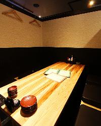 カップル様・観光・仕事帰りなどに少人数様用個室も。