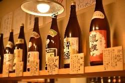 地元広島の日本酒も♪