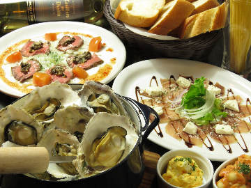 広島カキとムール貝のお店 HAKARU
