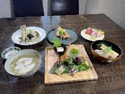 鮎の塩焼き☆ これがまた美味いんですっ!!