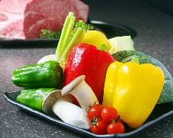 食べ放題の中にはもちろんお野菜も♪