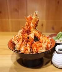 「揚げたてサクサク」 食感の 軽さが自慢の美味しい天ぷら!