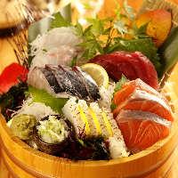 地元山陰で毎日仕入れる旬の海鮮を お値打ち価格で豪快に提供!