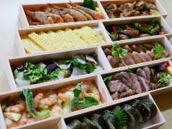 契約農家の新鮮な野菜や瀬戸内海の魚介を各種宴会でご堪能あれ
