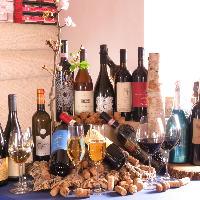 豊富なワインリストございます。