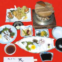 タコセット定食2,600円(税込)