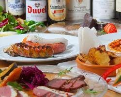岡山で珍しい燻製料理の数々をご賞味下さい