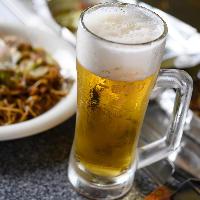 冷たいビールをご用意しています!