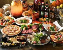 ◆飲み放題付パーティーメニューも豊富◆