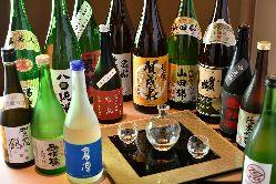 【お飲み物】焼肉に相応しい地酒・ワインが揃う!