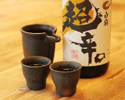 ドリンクは豊富にご用意。日本酒からワイン、カクテルまで♪