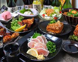 2H飲み放題コースは2,980円~!串焼きを存分に楽しむ宴会!