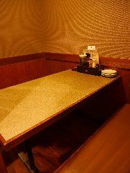 少人数様でもご利用可能な個室席もございます!