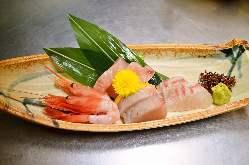 地元岡山の新鮮な食材を使っております。