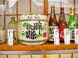 日本酒にも力をいれております。
