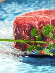 岡山県産の牛肉を贅沢に味わい下さい。