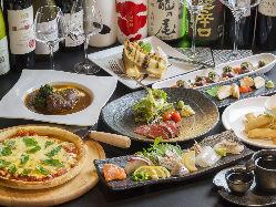 ワインと日本酒が存分に楽しめるお店です ワインセラー設置店