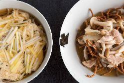 【手打ち蕎麦】 岡山産「蒜山蕎麦粉」を使用