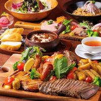 肉盛りが楽しめるコース各種ございます!