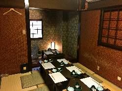 和の雰囲気漂う個室席はご宴会・接待などにも人気です。