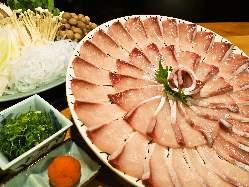 季節の旬食材を使った和の料理を堪能下さい。