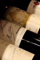 シニアソムリエ厳選ワイン。