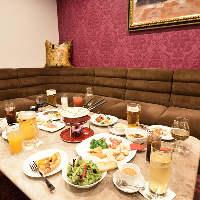 食材にこだわったお料理が豊富に。個室でお楽しみいただけます