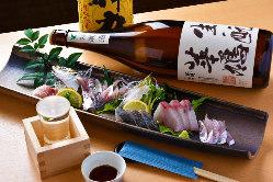 お酒の種類も多数あります。広島の地酒は料理との相性抜群☆
