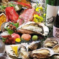 県外のお客様に大人気! 牡蠣食べ放題