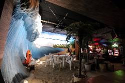 バリ島をイメージしたフロアはデートやコンパなどにも大人気!