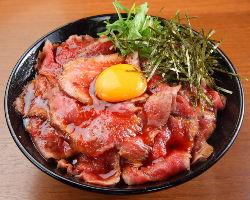 ローストビーフ丼の火付け役!
