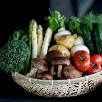島根県邑南町には豊かな食材が豊富にそろっております。