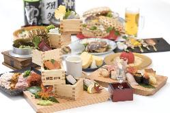 【各種ご宴会に】 飲み放題付宴会コースは4500円~