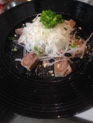 1番人気『タンの玉葱まみれ』ぶち美味いんじゃけ じゃけぇ!!
