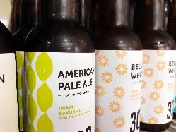 島根の地ビールや地酒も取り揃えています!!