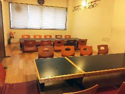 ご宴会個室は最大24名様でご利用いただけます。