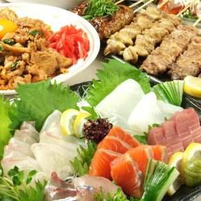 横川駅前 食べ放題居酒屋 冬月 -とうげつ-