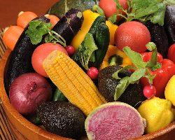 四季折々の旬な食材を使用しております。