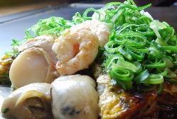 清盛盛り 海鮮+玉子+ねぎ+肉玉そば