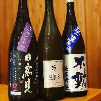 日本酒はその日により在庫が変わりますので、店内黒板をチェック