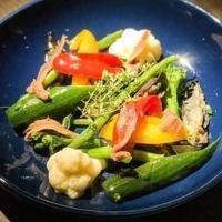 ◆厳選素材◆ 地元広島の新鮮な世羅野菜を使用した逸品をぜひ