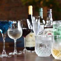 ◆カクテル◆ ノンアルコールも種類豊富にご用意しております