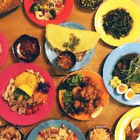 アジア各国の料理をまとめてお楽しみいただけます。