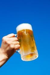 ビールメーカー4社のビールがまとめて飲めます。