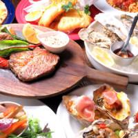 【牡蠣のフルコース】2h飲み放題付き 5,000円