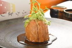 レンコンのステーキ ~生姜しょうゆ~
