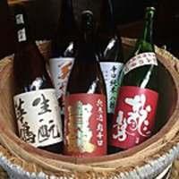 お酒好きの方にはたまらない、種類豊富な日本酒