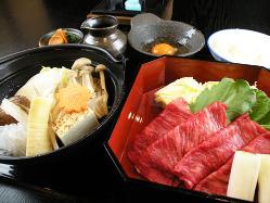 瀬戸内の鮮魚や、千屋牛や岡山県産野菜など厳選した素材を使用。