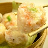 海老シューマイ/肉シューマイは旨味が詰まった人気メニュー!