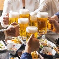 【岡山×酒】料理にあった一杯を。お酒も種類豊富にご用意。